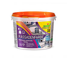 Акриловая фасадная краска Fassadenfarbe Nano farb 4.2 кг