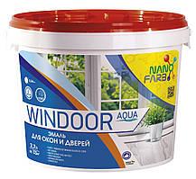 Эмаль для окон и дверей Windoor Aqua Nano farb 2.7 л