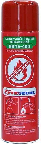 Огнетушитель водно-пенный аэрозольный Pyrocool