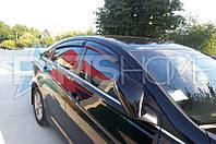 Ветровики на Окна Hyundai Sonata YF с 2009 г.в.