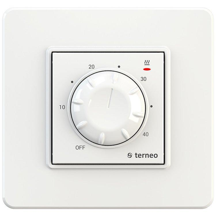 Терморегулятор для теплої підлоги terneo rtp білий