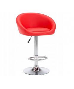 Барное кресло Hoker Басти (BS-1235BASR) Красное