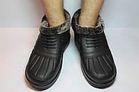Галош зимний мужской Эва шнурок