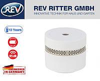 Датчик дыма мини REV VDS 10 лет работы, фотоэлементы в соответствии с EN 14604, 85 Дб, белый