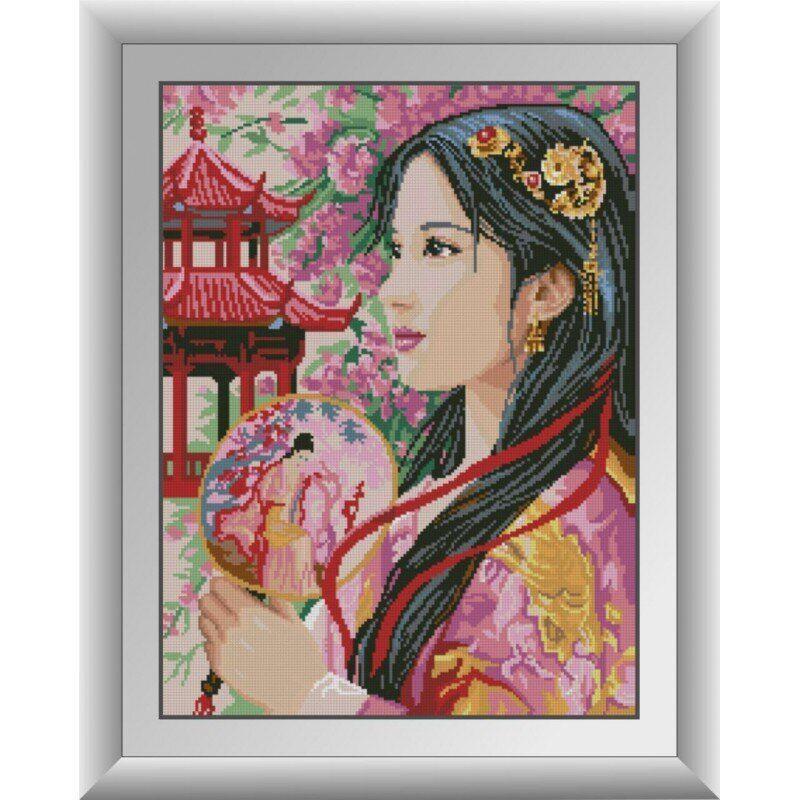 30895 Принцесса Азии Набор алмазной живописи