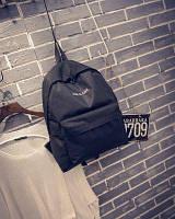 Повседневный городской рюкзак Черный