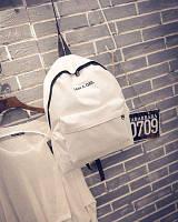 Повседневный городской рюкзак Белый