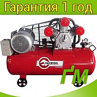 Компрессор INTERTOOL PT-0050 300 л, 11 кВт, 380 В, 8 атм, 1600 л/мин. 3 цилиндра.