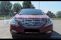 Дефлектор Капота Мухобойка Hyundai Sonata YF с 2009 г.в.