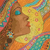 Картина по номерам Африканские краски 40*40см