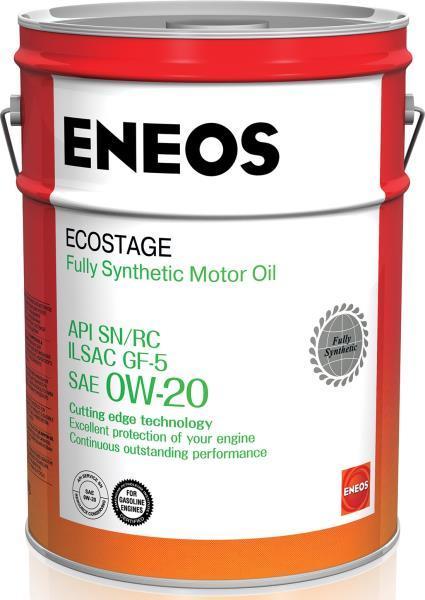 Масло моторное ENEOS SN/RC 0W-20, 20л.