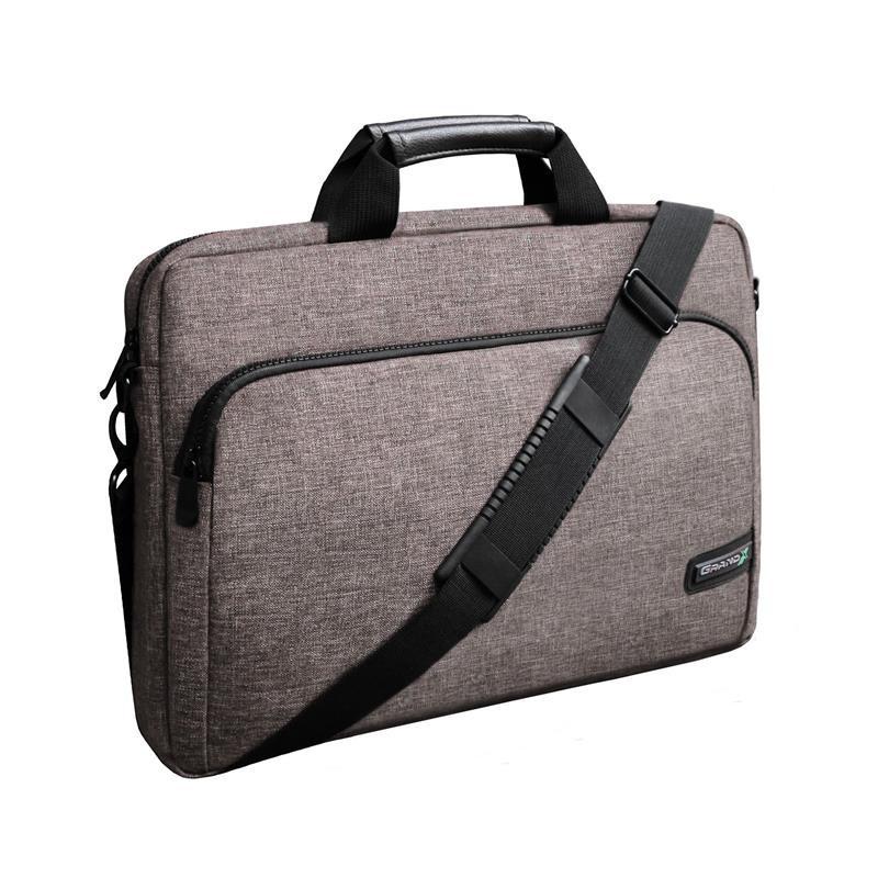 "Сумка для ноутбука Grand-X SB-139A Brown 15.6"""