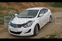 Дефлектор Капота Мухобойка Hyundai Elantra с 2011 г.в.