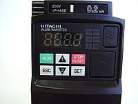 Преобразователь частоты Hitachi WJ200-002SF, 0.2кВт, 220В