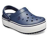 Кроксы женские Crocs Platform синие 37 разм., фото 1