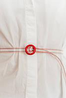 Ремни FAMO Ремень Томис красный Длина 109.0(см)/ Ширина 1.1(см) (REM-1911)