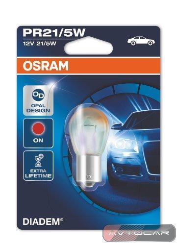 Osram Diadem P21/5W, 7538LDR, комплект 2шт.