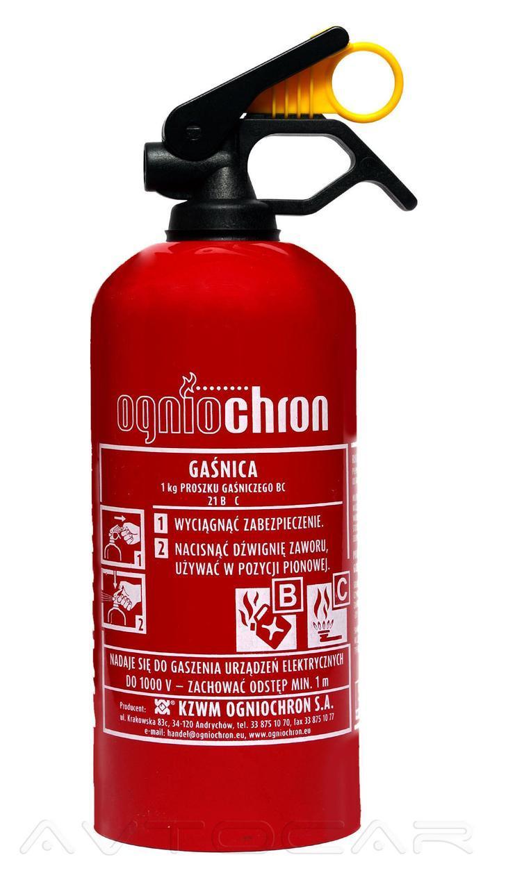 Огнетушитель Ogniochron порошковый BC