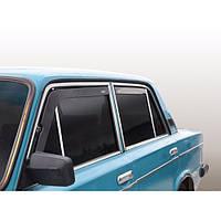 Azard Дефлекторы окон на ВАЗ 2106 (вставные), фото 1