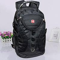 Современный городской рюкзак черного цвета SW 55320