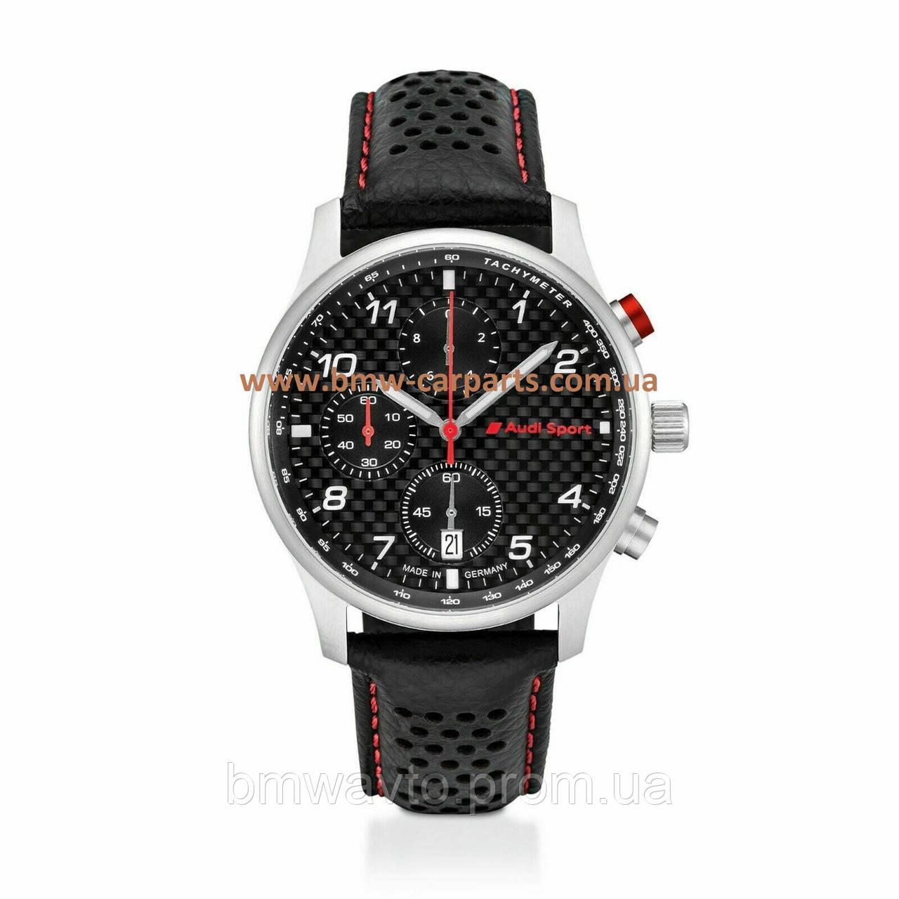 Чоловічі наручні годинники хронограф Audi Sport Chronograph Carbon 2019