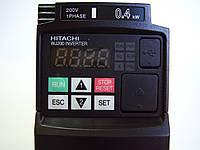 Частотный преобразователь Hitachi WJ200-004SF, 0.4кВт, 220В