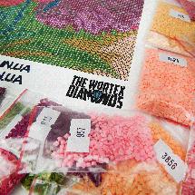TWD30005 Набор алмазной вышивки Осенние берёзы, фото 3