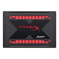 """Накопитель SSD 480GB Kingston HyperX Fury RGB 2.5"""" SATAIII 3D TLC (SHFR200B/480G) Upgrade Kit"""