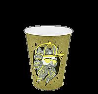 "Одноразовый стакан, серия ""ПОСЕЙДОН"", 400мл. 50шт/уп (1ящ/16уп/800шт) под крышку КВ90/""РОМБ"" 90"