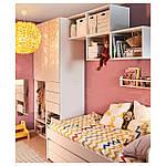 IKEA PLATSA Шкаф с 2 дверями и 3 ящиками, Fonnes белый, 300x57x241 см (993.045.78), фото 2
