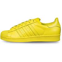 Женские кроссовки  Adidas Superstar  Multi color (Yellow), фото 1