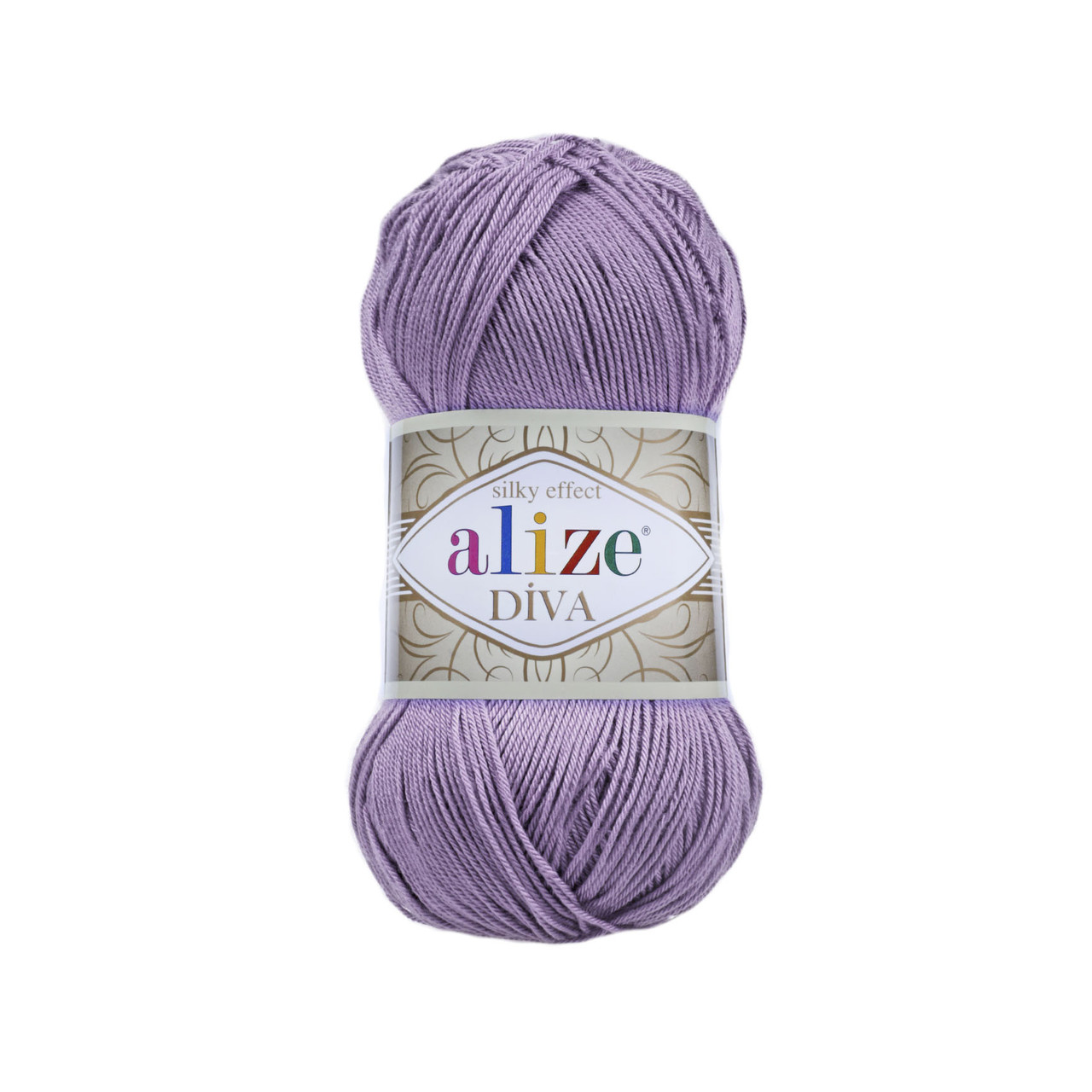 Пряжа Ализе Дива Alize Diva, цвет №622 фиолетовый