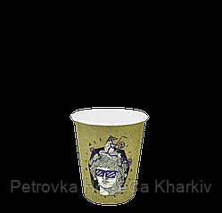 """Одноразовый стакан, серия """"ДИОНИС"""", 175мл. 50шт/уп (1ящ/20уп/1000шт) под крышку КВ71/""""РОМБ"""" 71"""