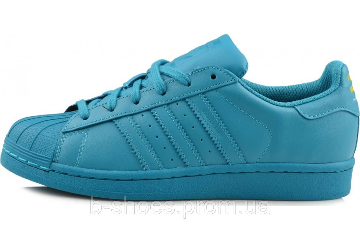 Женские кроссовки  Adidas Superstar  Multi color (Blue)
