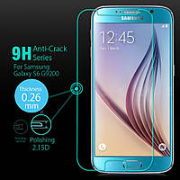 Защитное стекло Premium Tempered Glass 0.26mm (2.5D) для Samsung G925F Galaxy S6 Edge