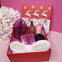 Новогодний подарочный набор декоративной косметики Pro Make Up № 7