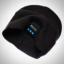 Шапка со встроенной блютуз гарнитурой и микрофоном KS Magic Hat Черная, фото 2