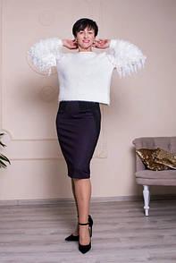 Повседневная юбка красивого оттенка