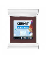 Полимерная глины Цернит Cernit (Бельгия) эконом упак.250 г -шоколадный 800
