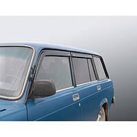 Azard Дефлектори вікон на ВАЗ 2104 (ПК, накладні), фото 1