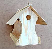 """Шпаківня з дерева, дерев'яна годівниця для птахів, """"Іволга"""", будиночок для горобців"""