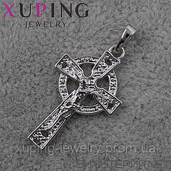 Крестик Xuping медицинское золото Silver - 1020504603