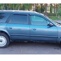 COBRA TUNING Дефлектори вікон на Audi 100 C4/4A Avant '90-94 (накладні), фото 1