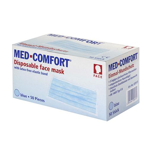 Маска защитная MED COMFORT (Германия) 02201 белый