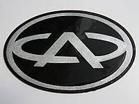 Антискользящий силиконовый коврик на торпедо с логотипом Chery с запахом лимона