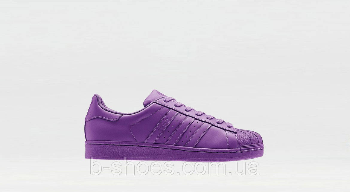 Женские кроссовки  Adidas Superstar  Multi color (Purple)
