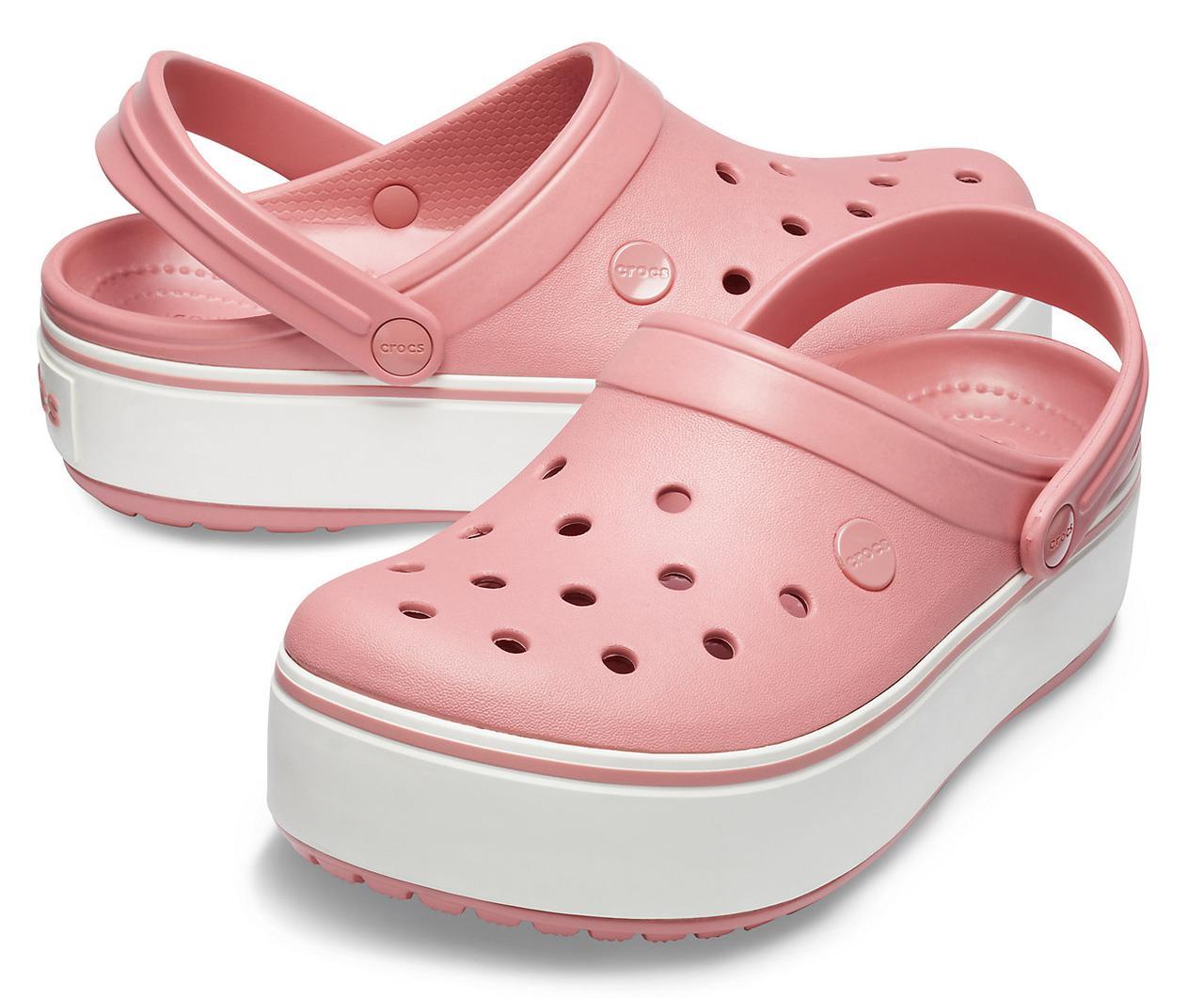 Кроксы летние Crocs Platform розовые 38 разм.