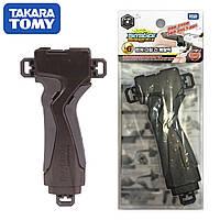 Ручка для запуска бейблейд b-109 Launcher Grip Gunmetallic Takara Tomy