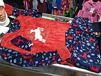 Пижама женская махровая Новогодняя р.44 - 48