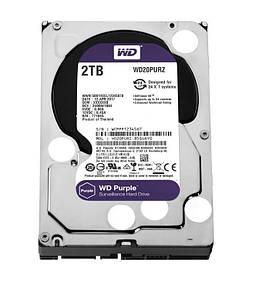 Накопитель HDD SATA 2.0TB WD Purple 5400rpm 64MB (WD20PURZ)